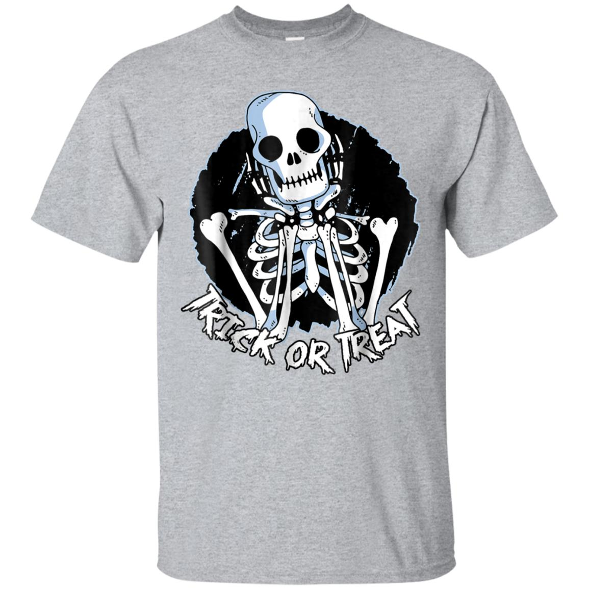 Spooky Skeleton Trick or Treat Halloween Costume Shirt 99promocode