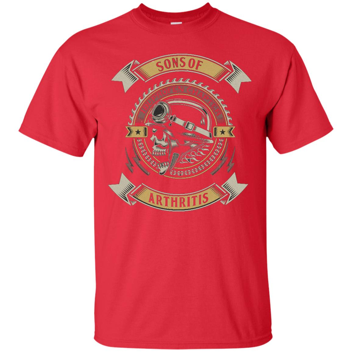 9c96257c Awesome sons with arthritis ibuprofen chapter bikers funny t shirt ...