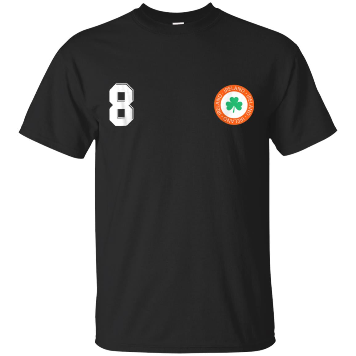 Retro Ireland Soccer Jersey EIRE Football T-Shirt number 8 99promocode