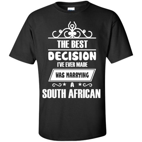 the best decision i've ever made was marrying a SOUTH AFRICAN