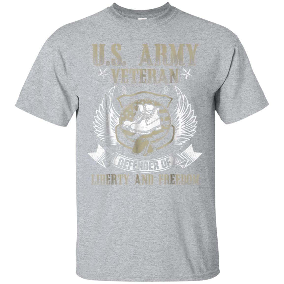 u.s. army veteran tshirt defender of liberty and freedom 99promocode