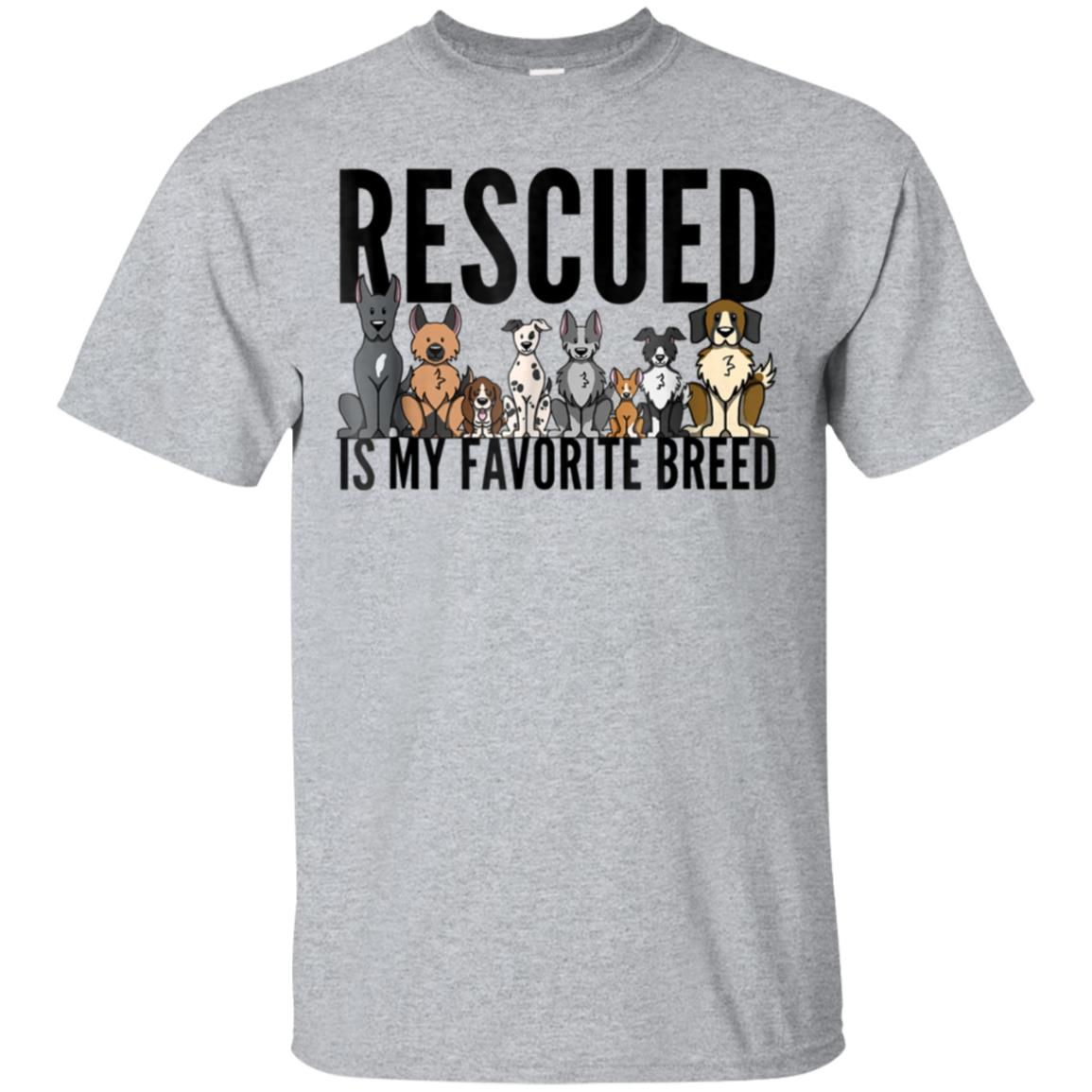 Dog Lovers T-Shirt for Women Men Kids - Rescue Dog Shirt 99promocode