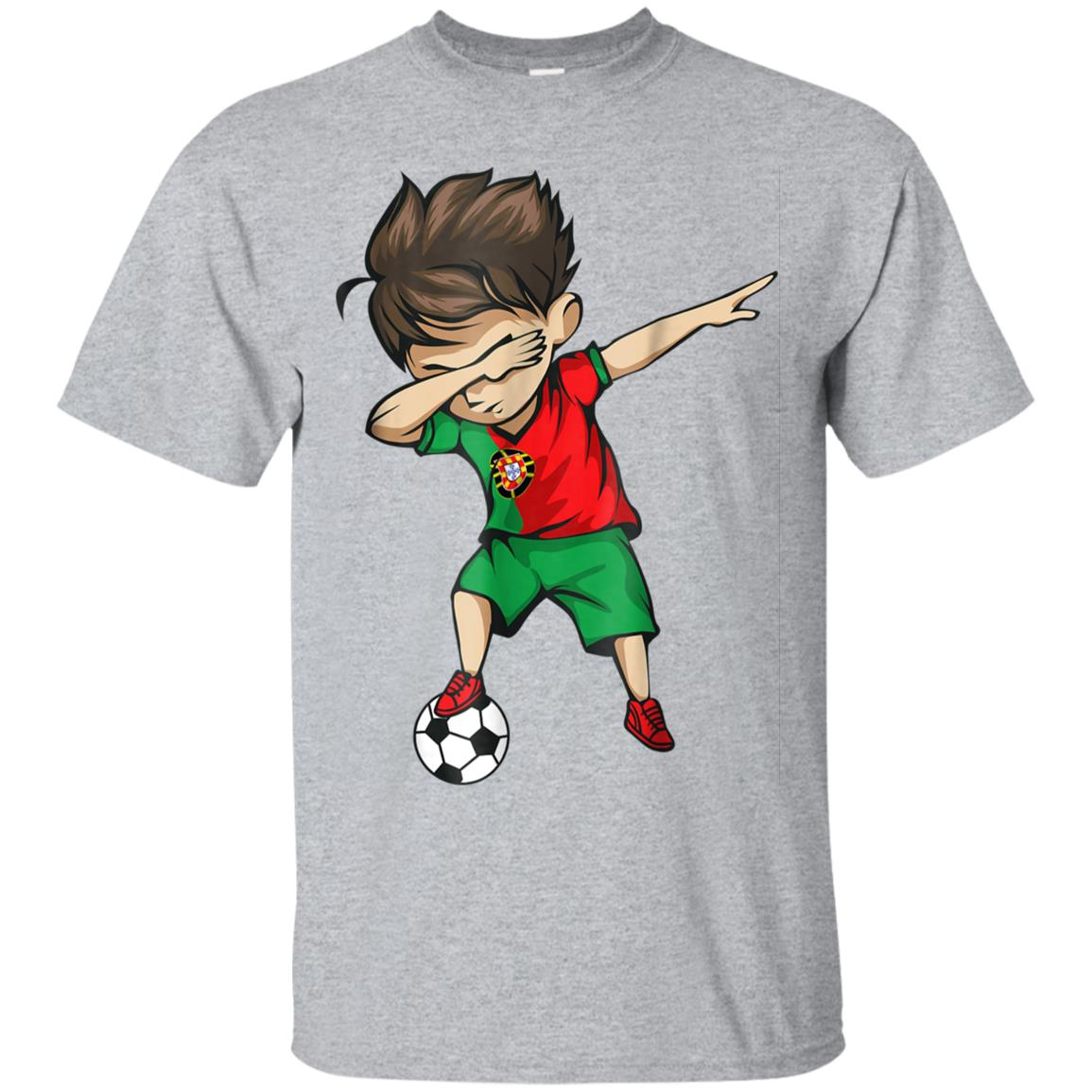 Dabbing Soccer Boy Portugal Jersey Shirt Portuguese Football 99promocode