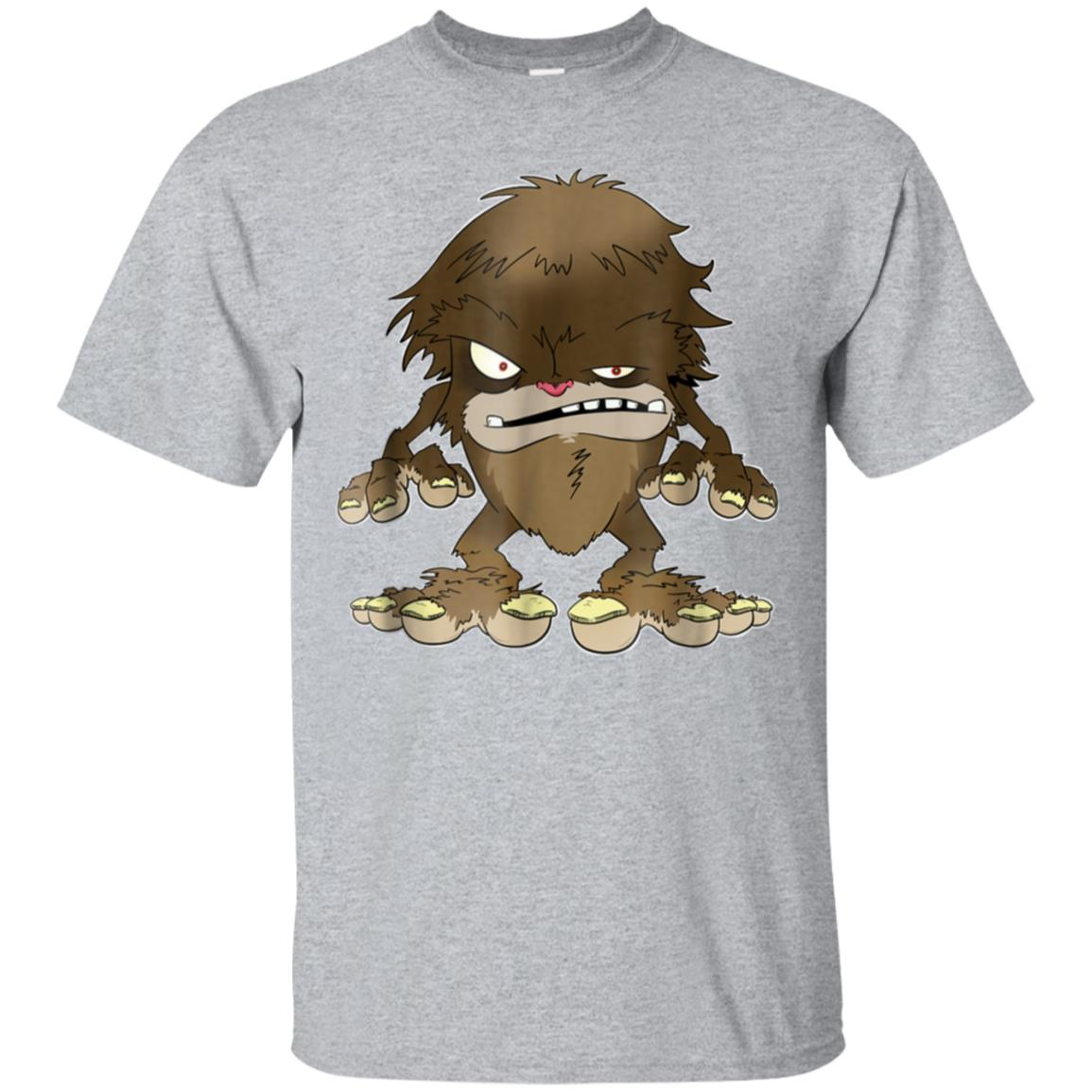 Bigfoot - A Hairy Scary Monster T-Shirt 99promocode