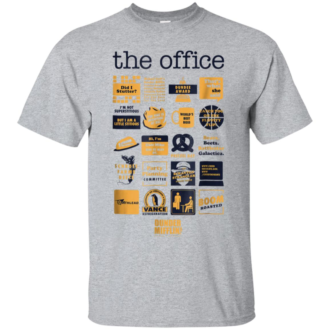 The Office Quote Mash-Up Funny T-Shirt - Official Tee 99promocode