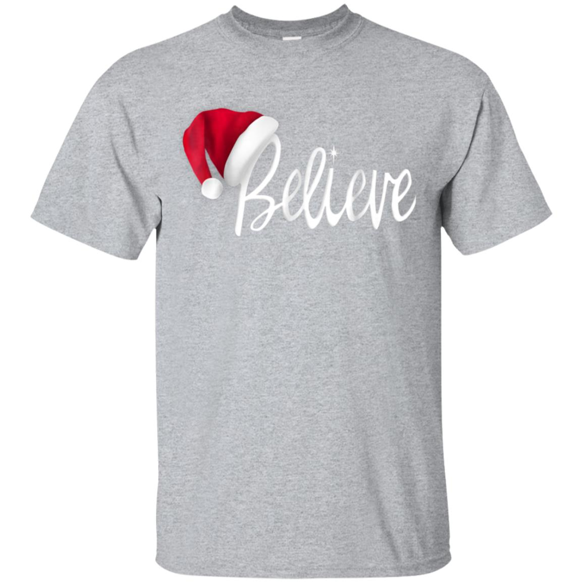 Christmas T-Shirt - Believe in Santa Claus Shirt 99promocode
