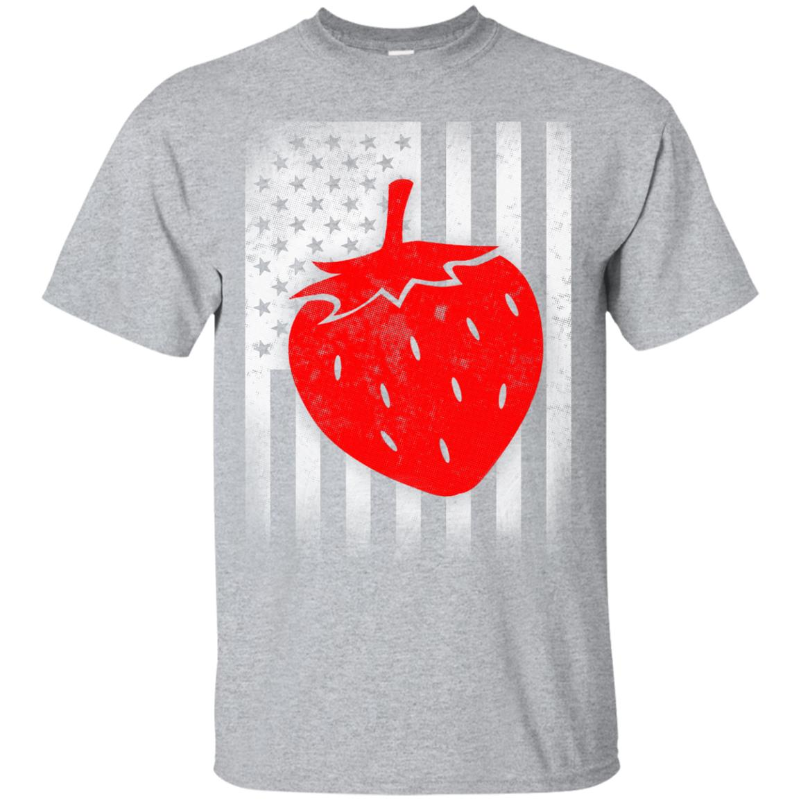 strawberry shirt US Flag 99promocode