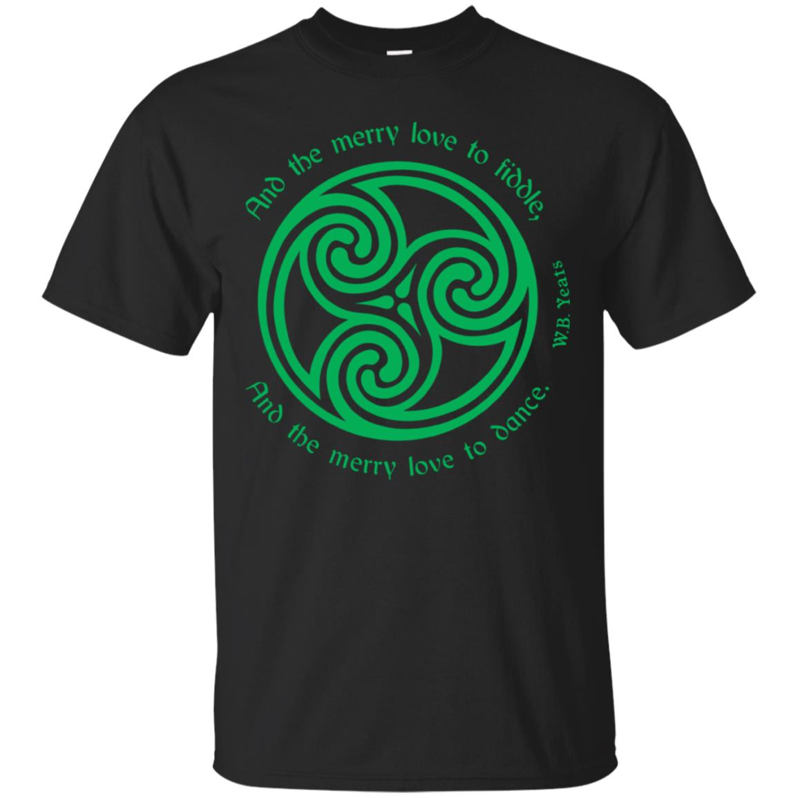 Yeats Poet Shirt Irish Celtic Knot Triskele Ireland Travel 99promocode