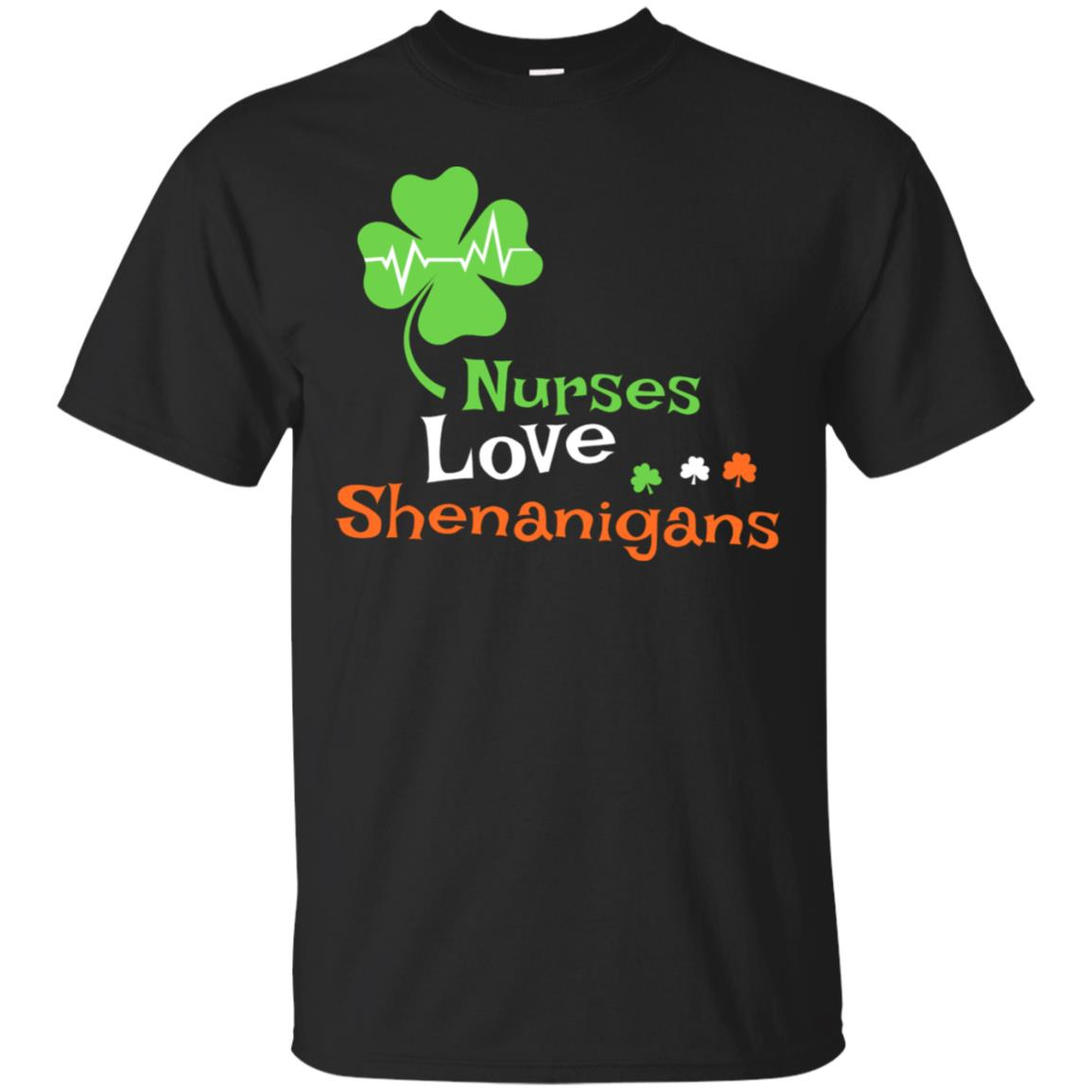 Nurses Love Shenanigans Funny St Patrick Day Men Women Shirt 99promocode