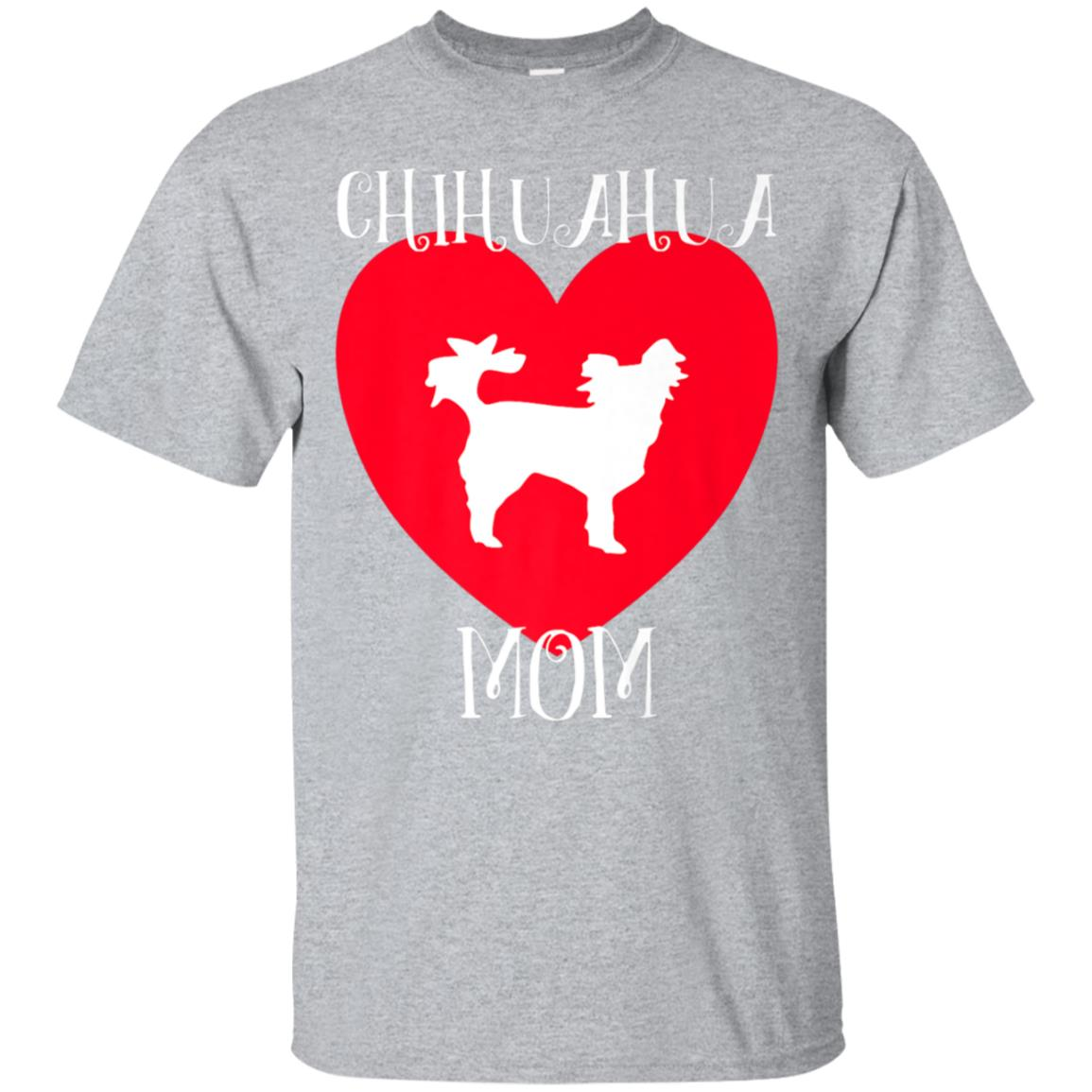 Cute Chihuahua Mom Tshirt - Gift for Dog Lovers 99promocode