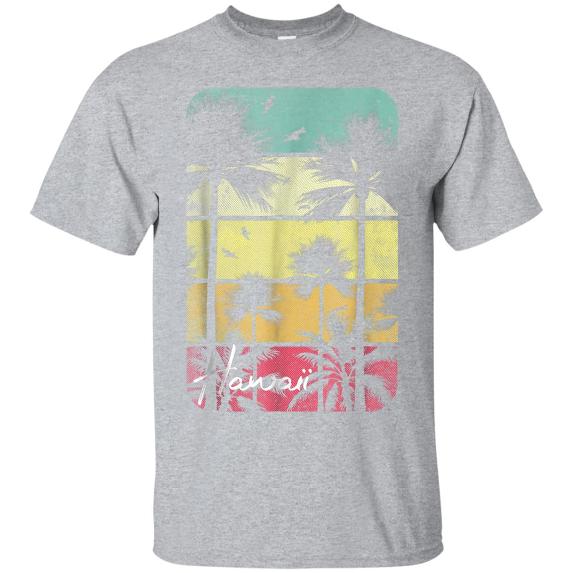Retro Hawaii T Shirt Vintage Hawaiian Islands Aloha State 99promocode