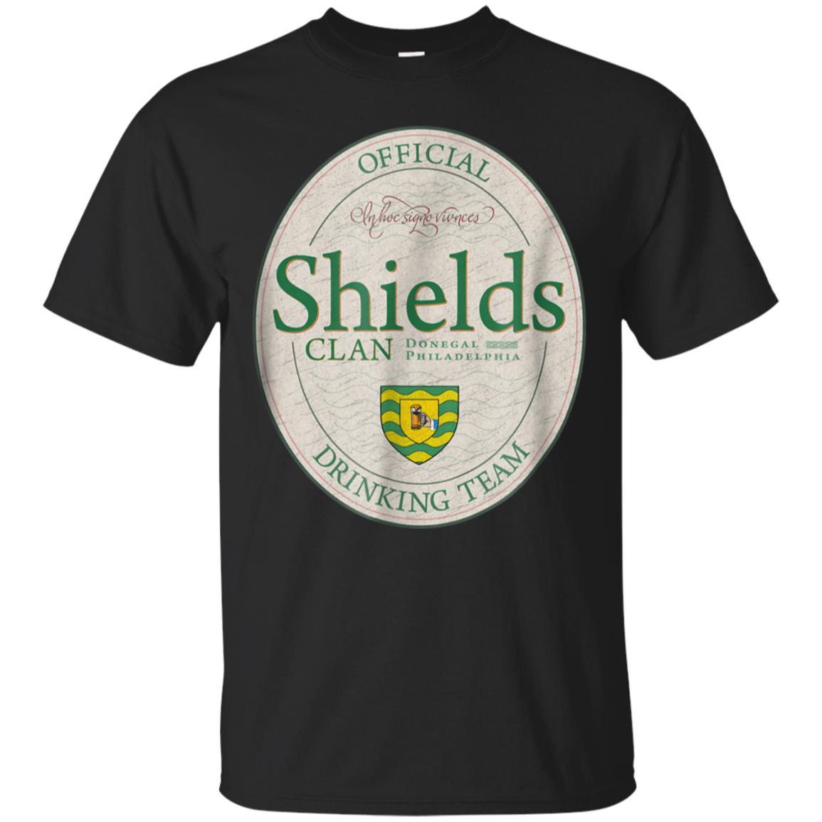 Shields Clan T-Shirt Official Drinking Team 99promocode