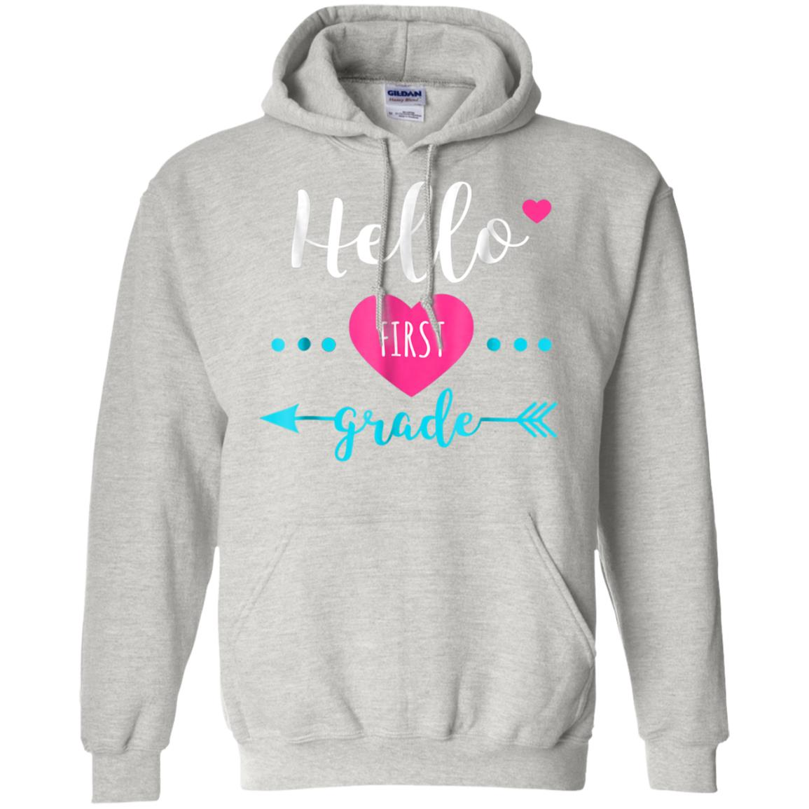 Hello First Grade Back to School Gift for 1st Grade Girls 99promocode