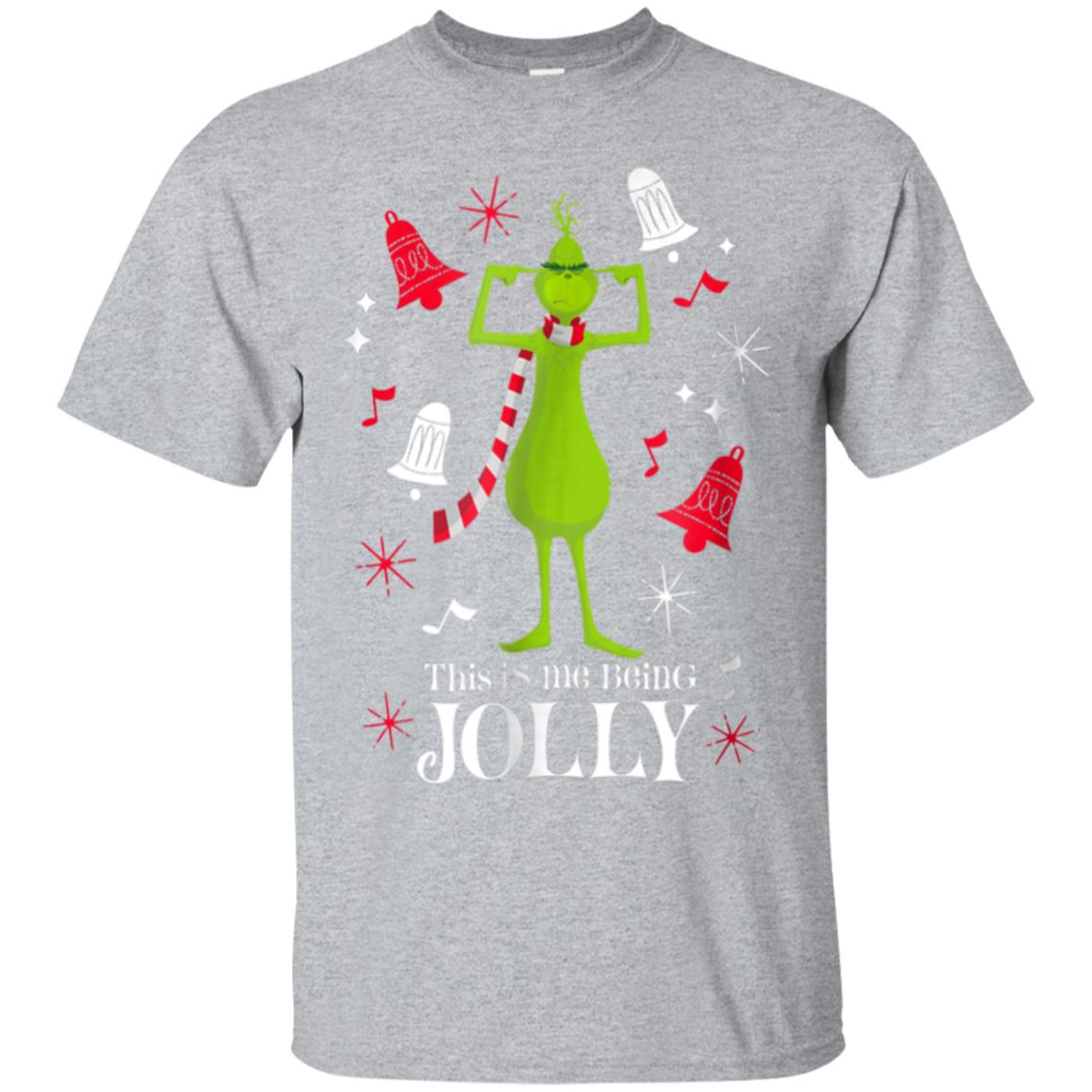 Dr. Seuss The Grinch Being Jolly T-shirt 99promocode