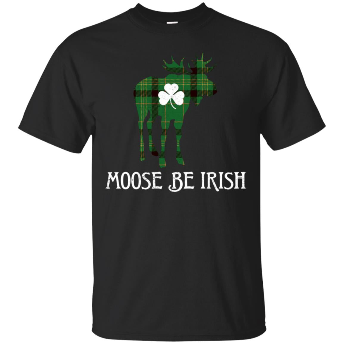 Moose Be Irish Shirt St Patrick's Day Shamrock 99promocode