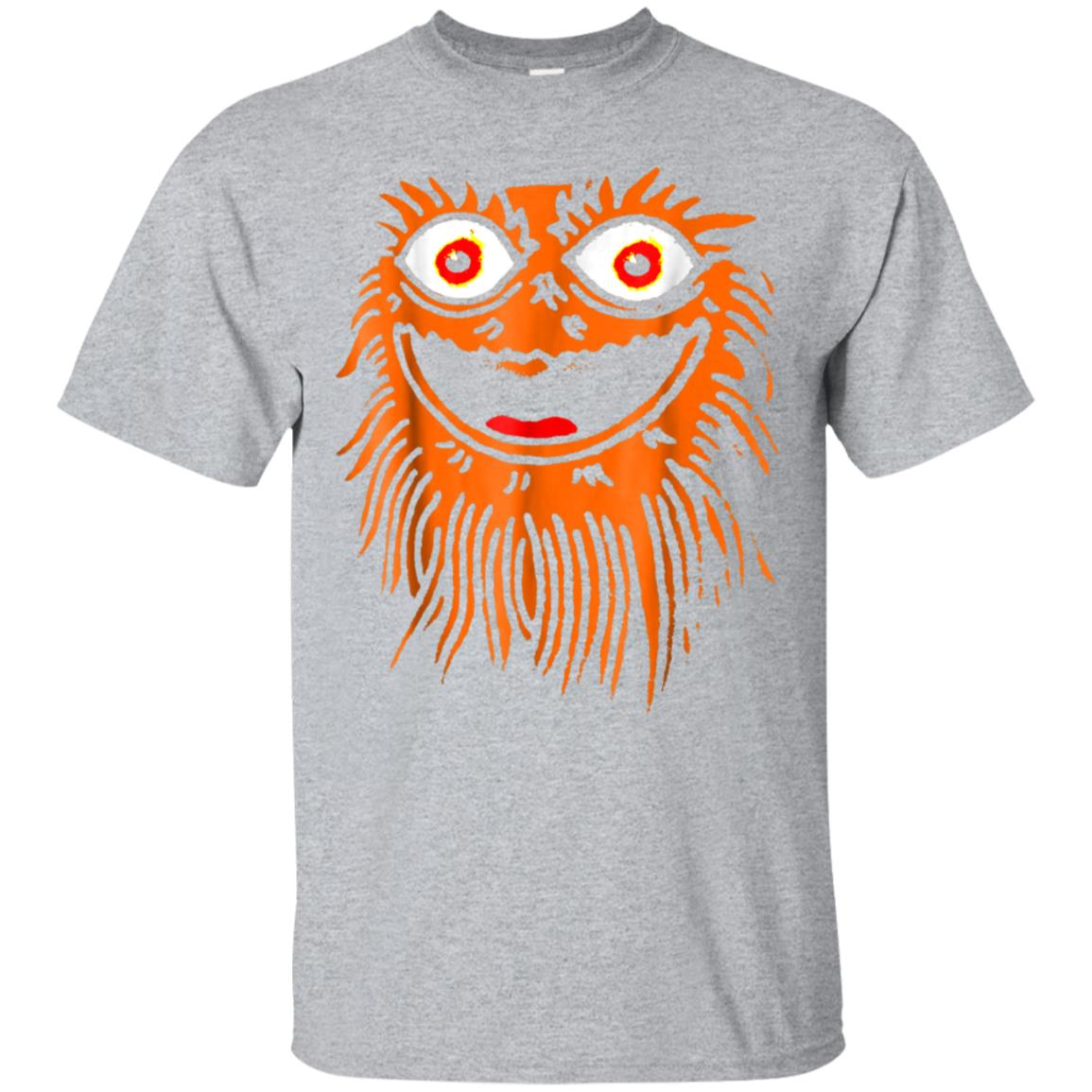 Gritty Mascot Face Sports Team Funny T-Shirt 99promocode