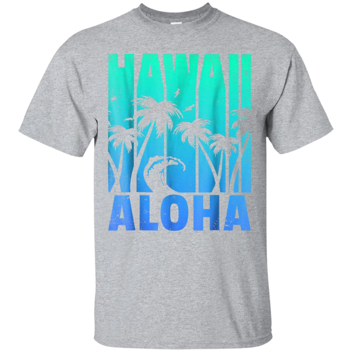HAWAII Vintage Hawaiian Islands Aloha State Retro T Shirt 99promocode