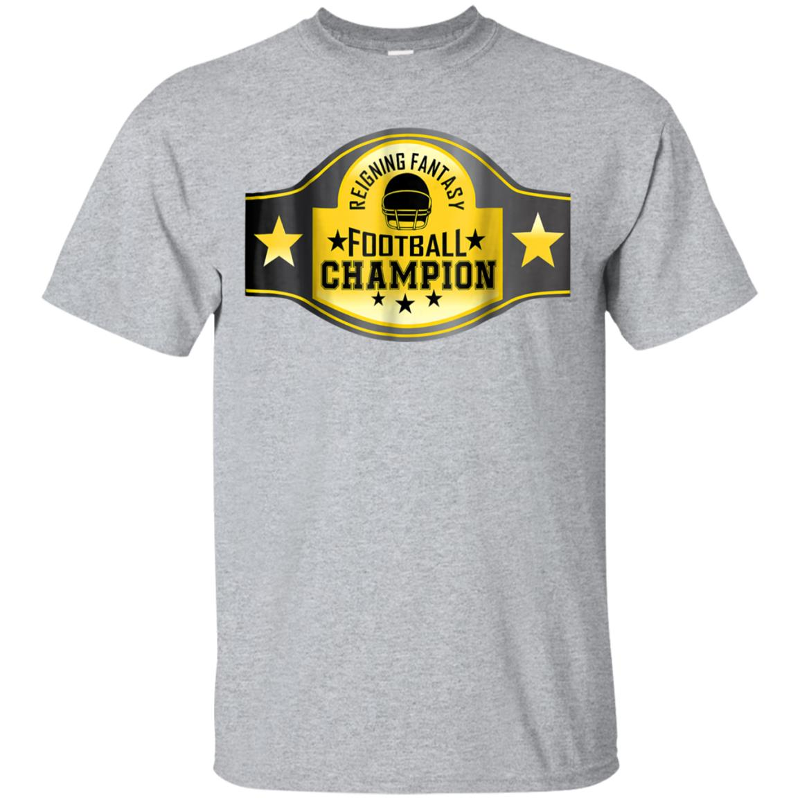 Reigning Fantasy Football Champion Shirt Funny League Belt 99promocode