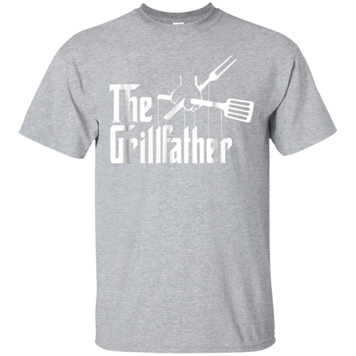 The Grillfather - BBQ Smoker Grilling Barbecue Shirt 99promocode