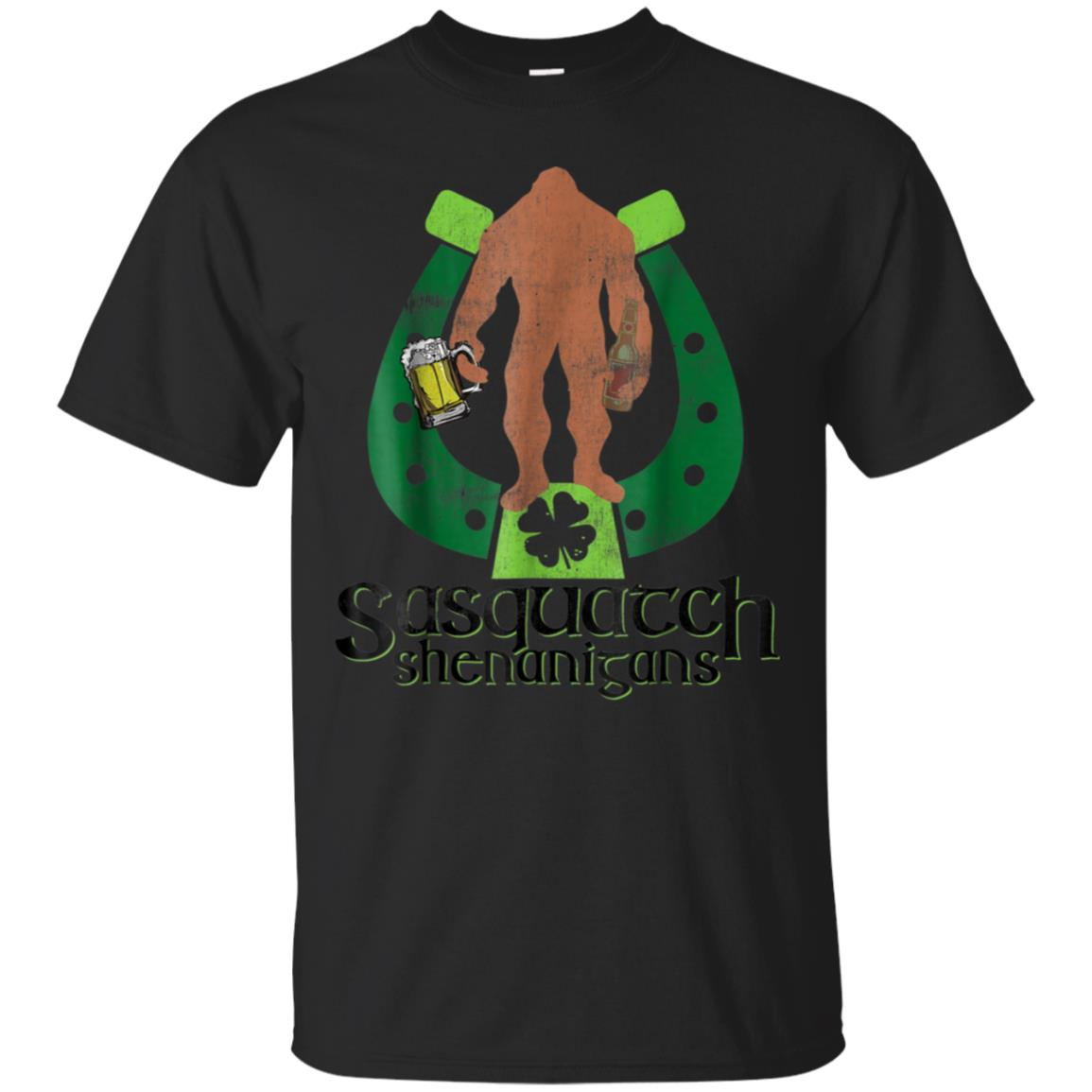 Sasquatch Shenanigans St Patricks Day Bigfoot TShirt Gift 99promocode