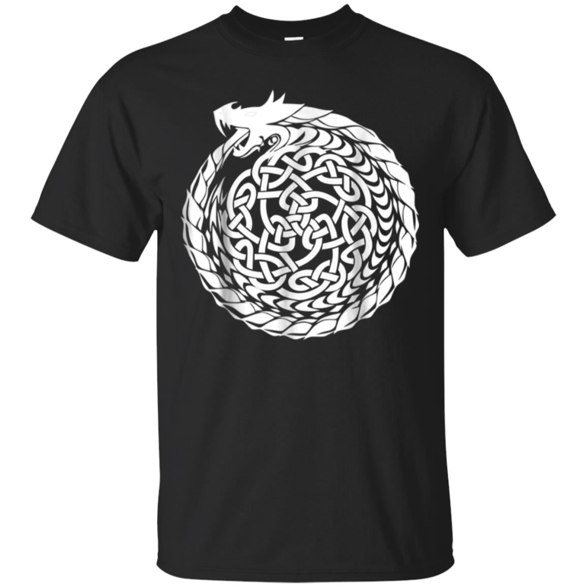 Celtic T-Shirt Irish Dragon Knot Circle Ireland St. Paddy's 99promocode