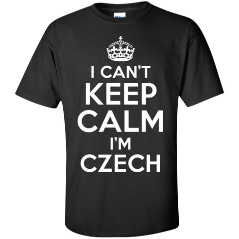 I CAN'T KEEP CALM, I'M CZECH