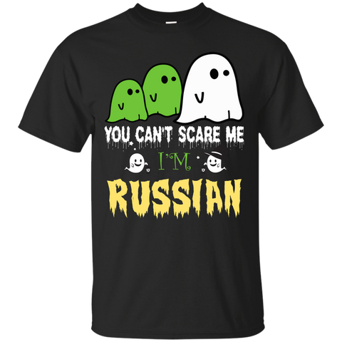 Halloween You can't scare me, i'm RUSSIAN