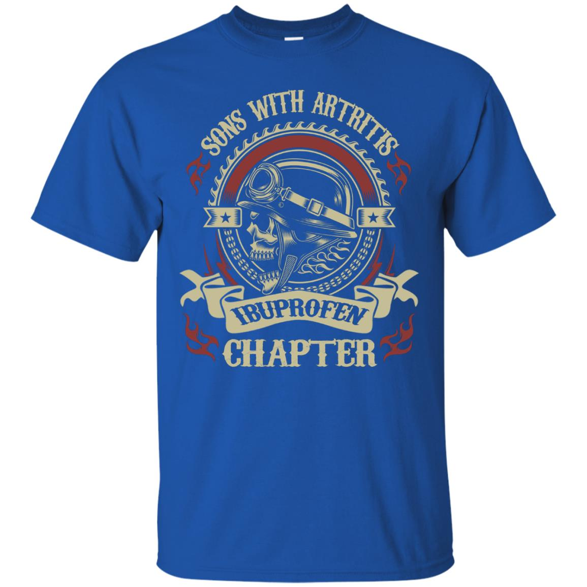 bb03b0f8 Awesome sons with arthritis ibuprofen chapter funny bikers t shirt ...