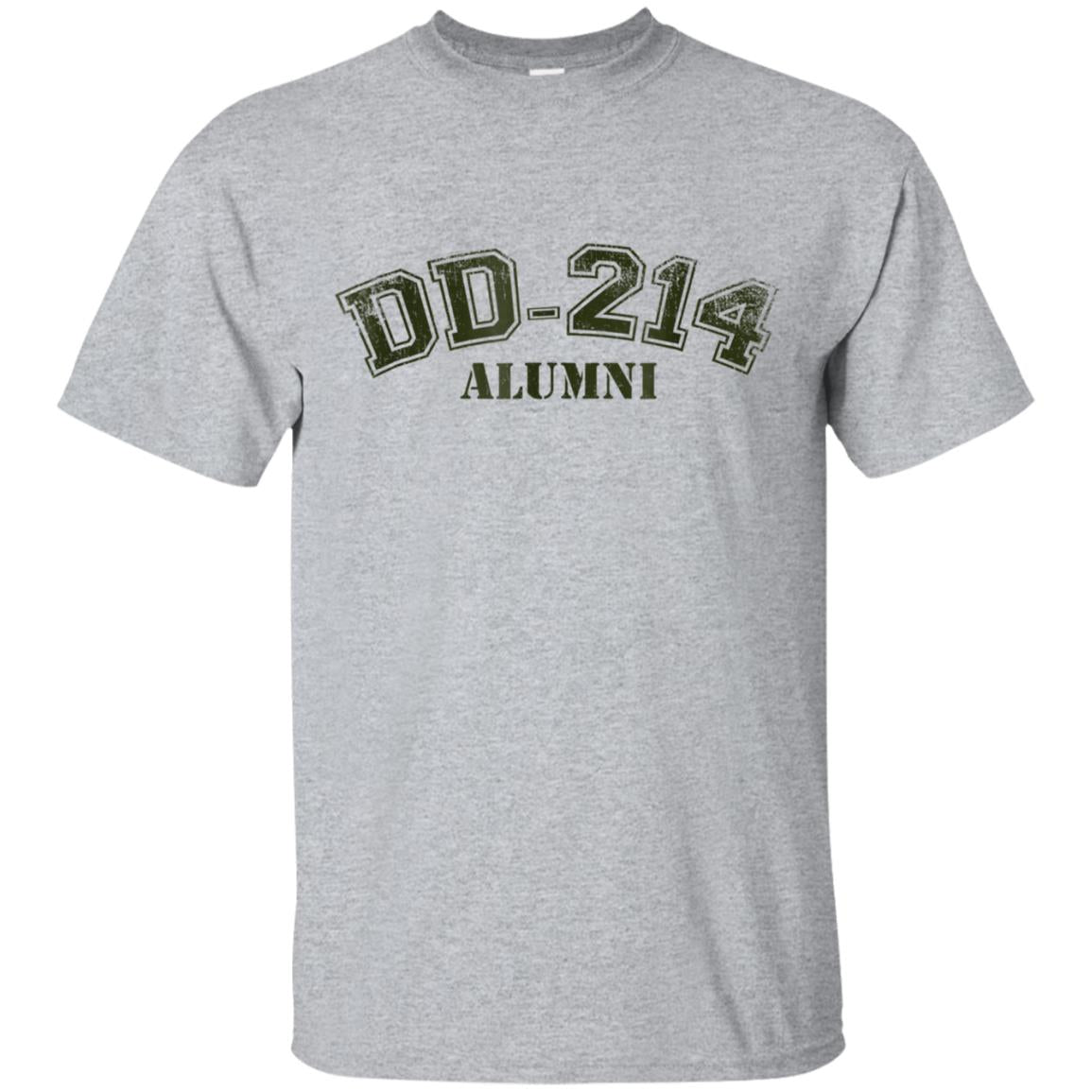 DD-214 Alumni T-Shirt for US Navy, Air Force, Army Veterans 99promocode