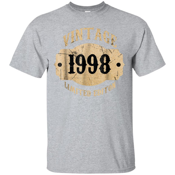 Awesome 1998 20 Years Old 20th B Day Limited Birthday Gift T Shirt