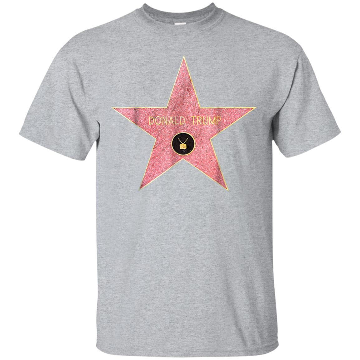 Donald Trump star on the Hollywood Walk of Fame T-shirt 99promocode
