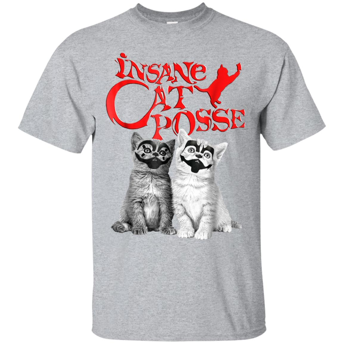 Insane Cat Posse Halloween Costume T-shirt Gift 99promocode