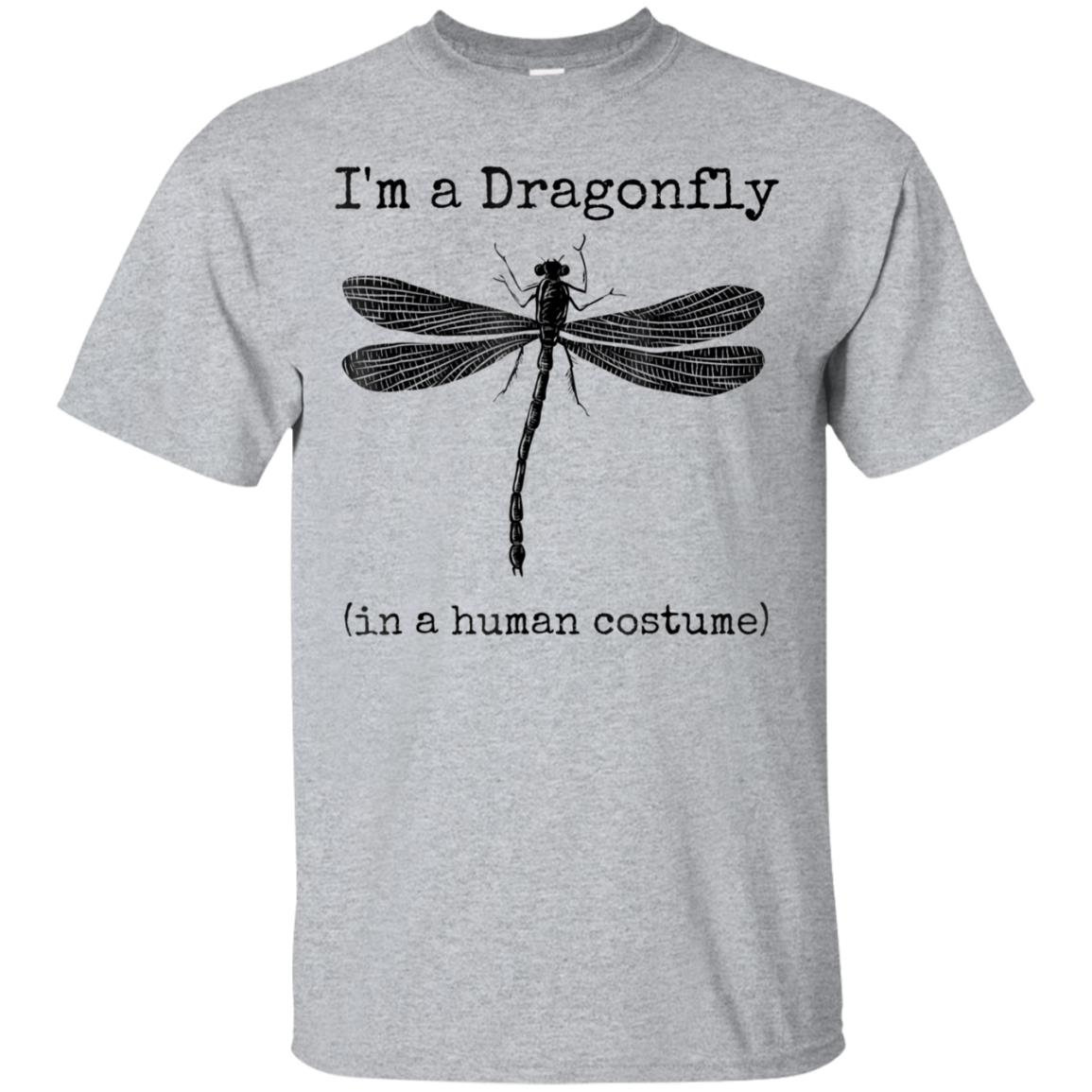I'm a Dragonfly in a Human Costume Funny Dragonflies Shirt 99promocode