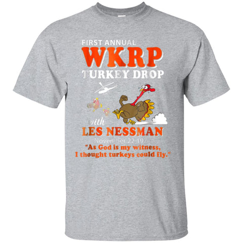 First-annual-WKRP-Turkey-Drop-Thanksgiving-Day-T-Shirt