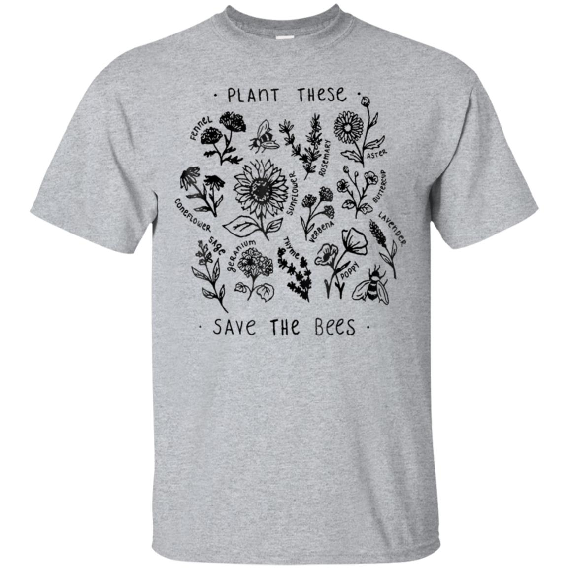 Plant These Save The Bees TShirt 99promocode