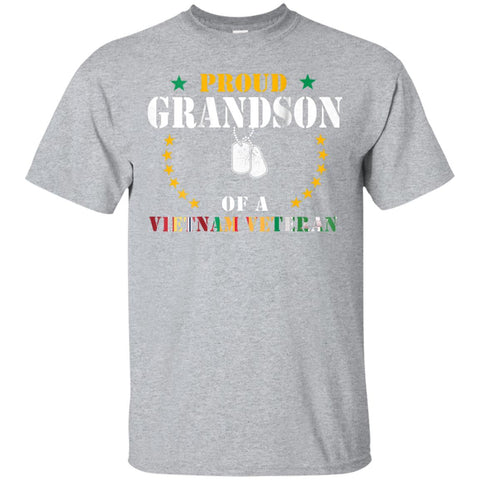 Proud Grandson Of A Vietnam Veteran Veteran's Day Gift Shirt
