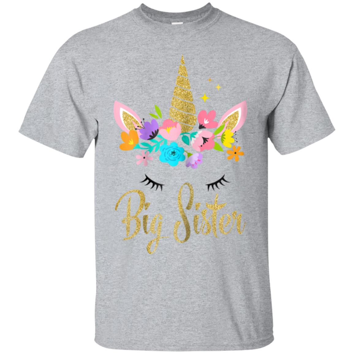 Kids Unicorn Big Sister Shirt I'm Going to be a Big Sister T 99promocode