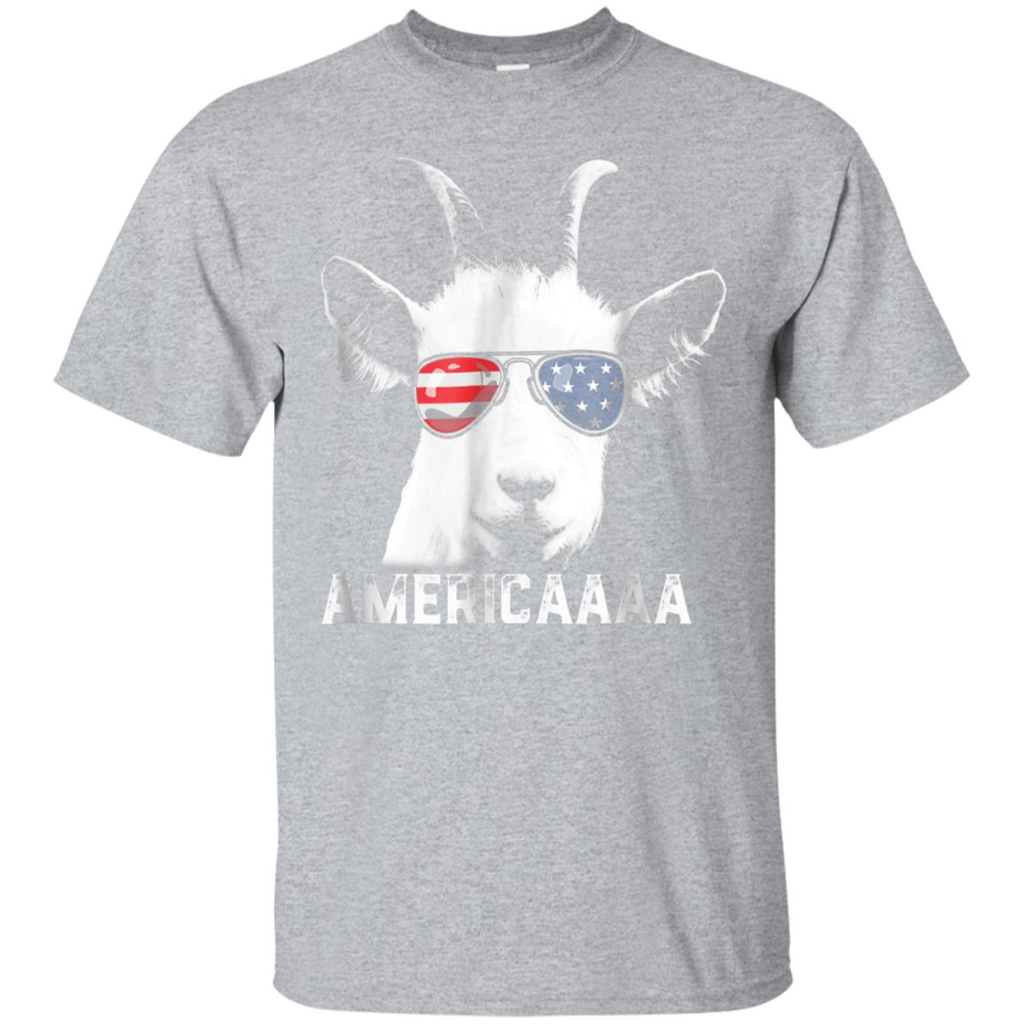 Patriotic Goat 4th of July T shirt Boys Funny Goat Americaaa 99promocode
