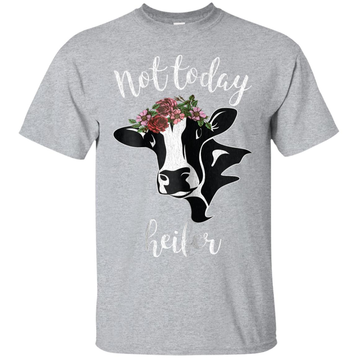 Awesome womens not today heifer t shirt vintage funny cow shirt women -  99promocode 14a92de9779f