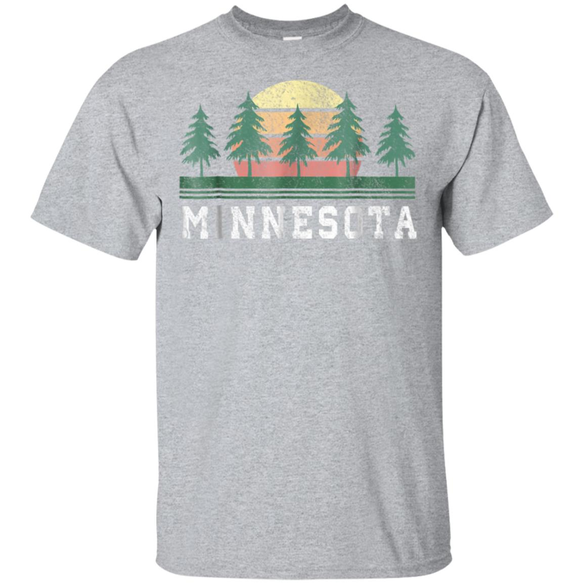 Minnesota MN T-Shirt Retro Vintage Shirt Gift Men Women Kids 99promocode