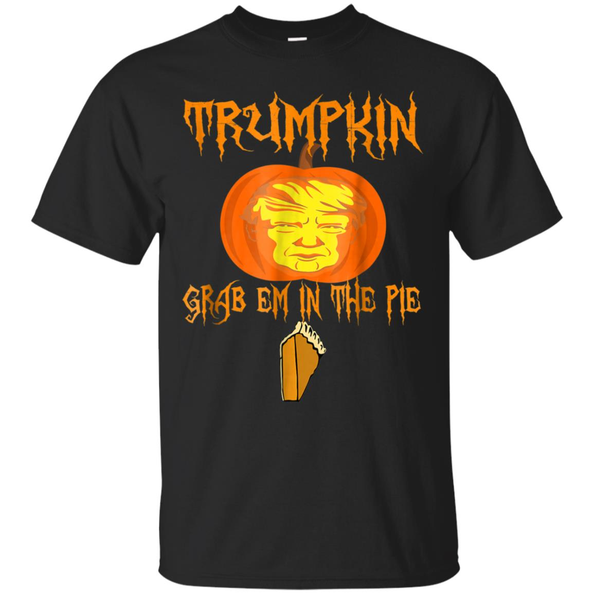 Trumpkin, Grab em in the pie. Halloween Jack o lantern 99promocode