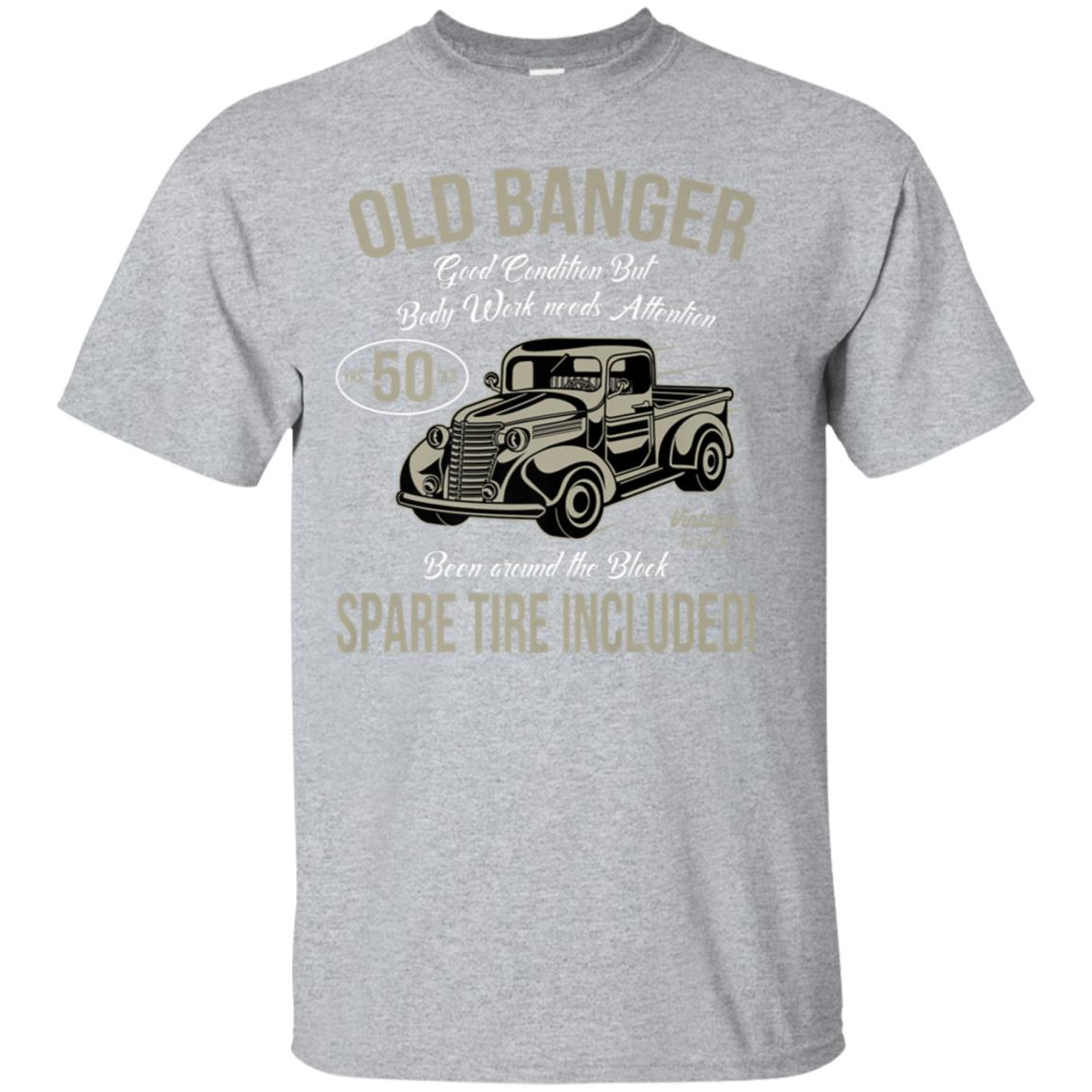 50th Birthday T-Shirt Vintage Old Banger 50 years old Gift 99promocode
