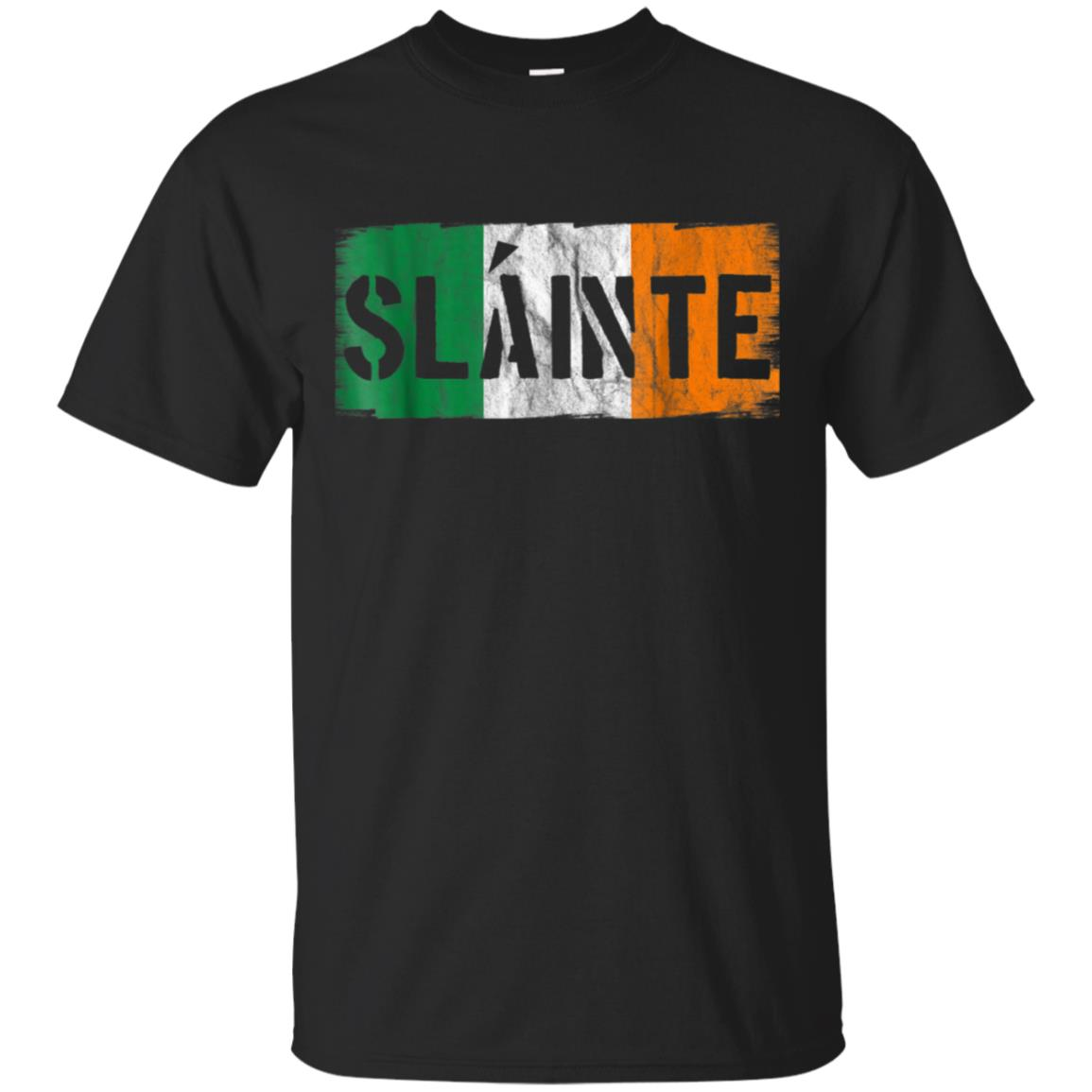 Slainte Irish Gaelic Cheers Vintage St Patricks Day Shirt 99promocode