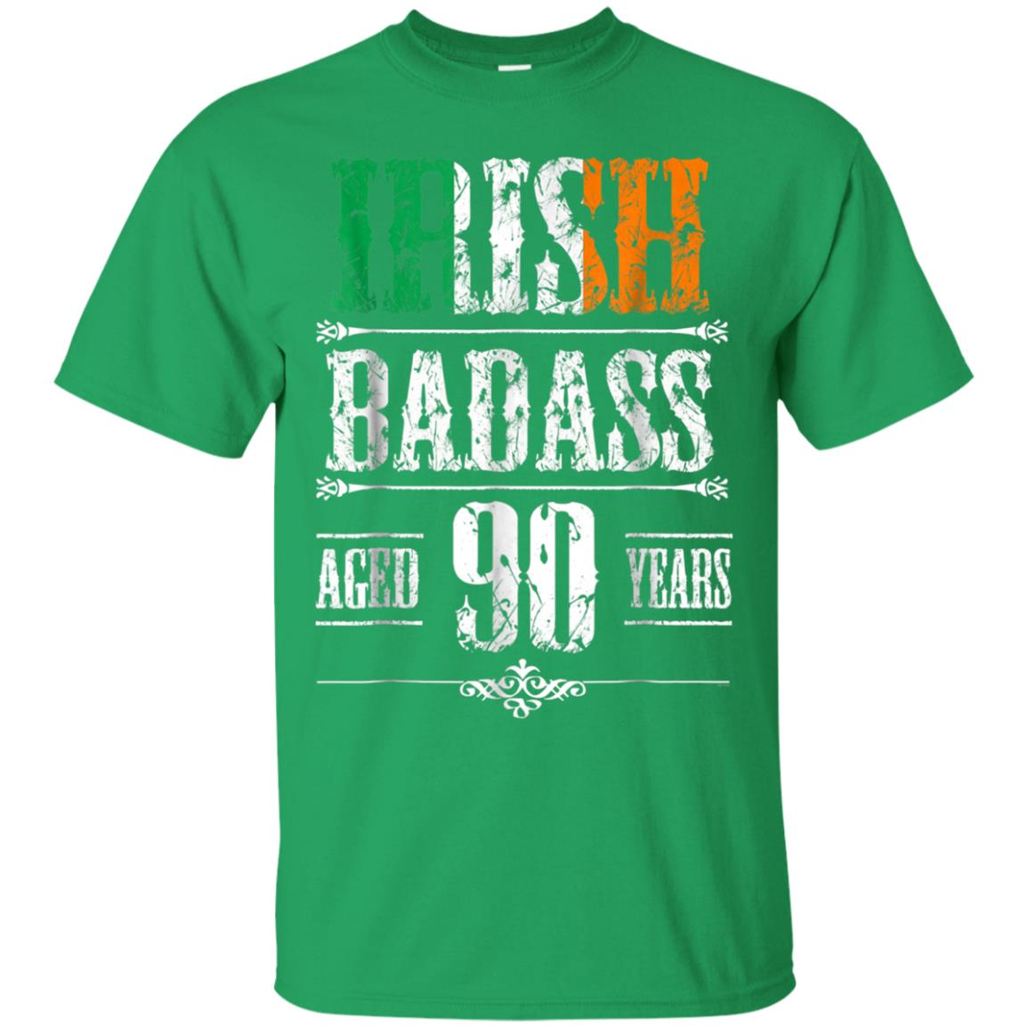 Awesome 90th Irish Birthday Gifts T Shirt Present For 90 Year Old