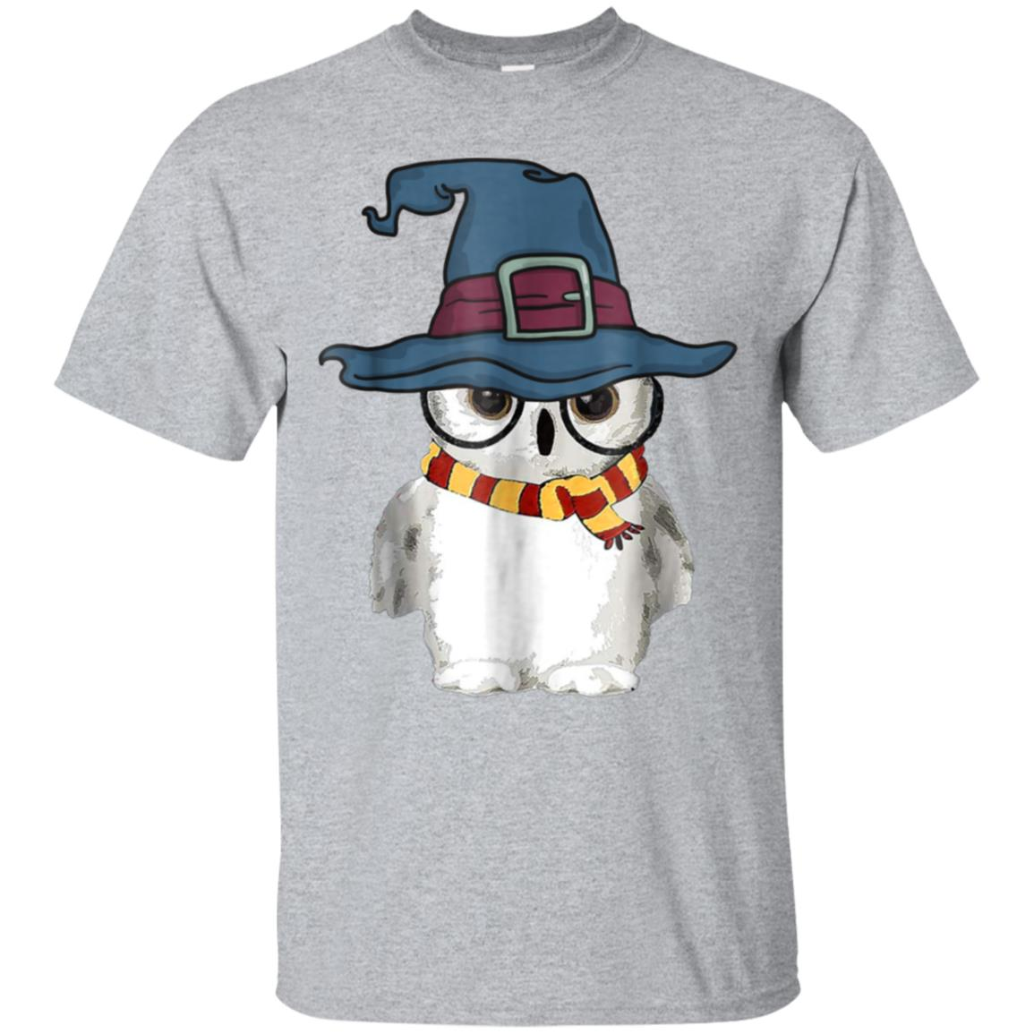 Funny Cute Owl Harry Magical Wizard Hat Potter T-shirt 99promocode