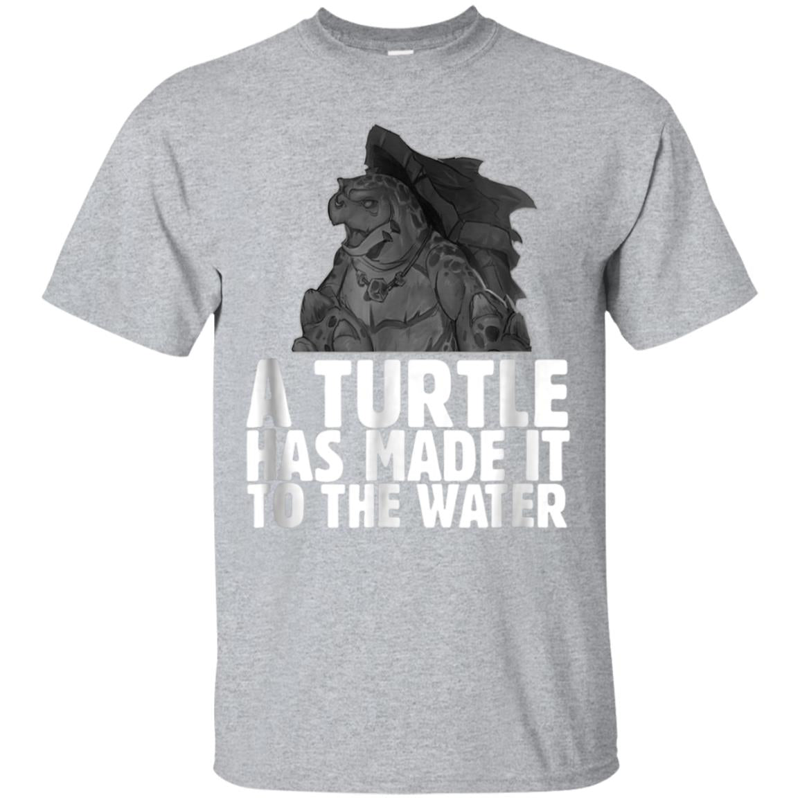 A turtle has made it to the water T-Shirt 99promocode