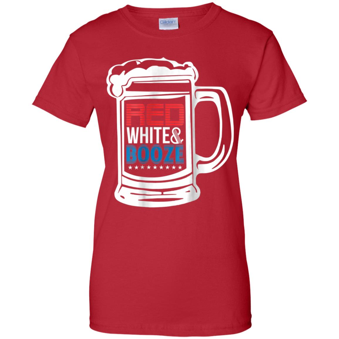 12e0bf2d Awesome 4th of july t shirt patriotic red, white, & booze gift tee ...