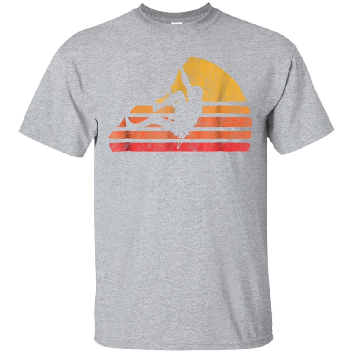 Bouldering - Distressed Retro Rock Climbing T-Shirt 99promocode