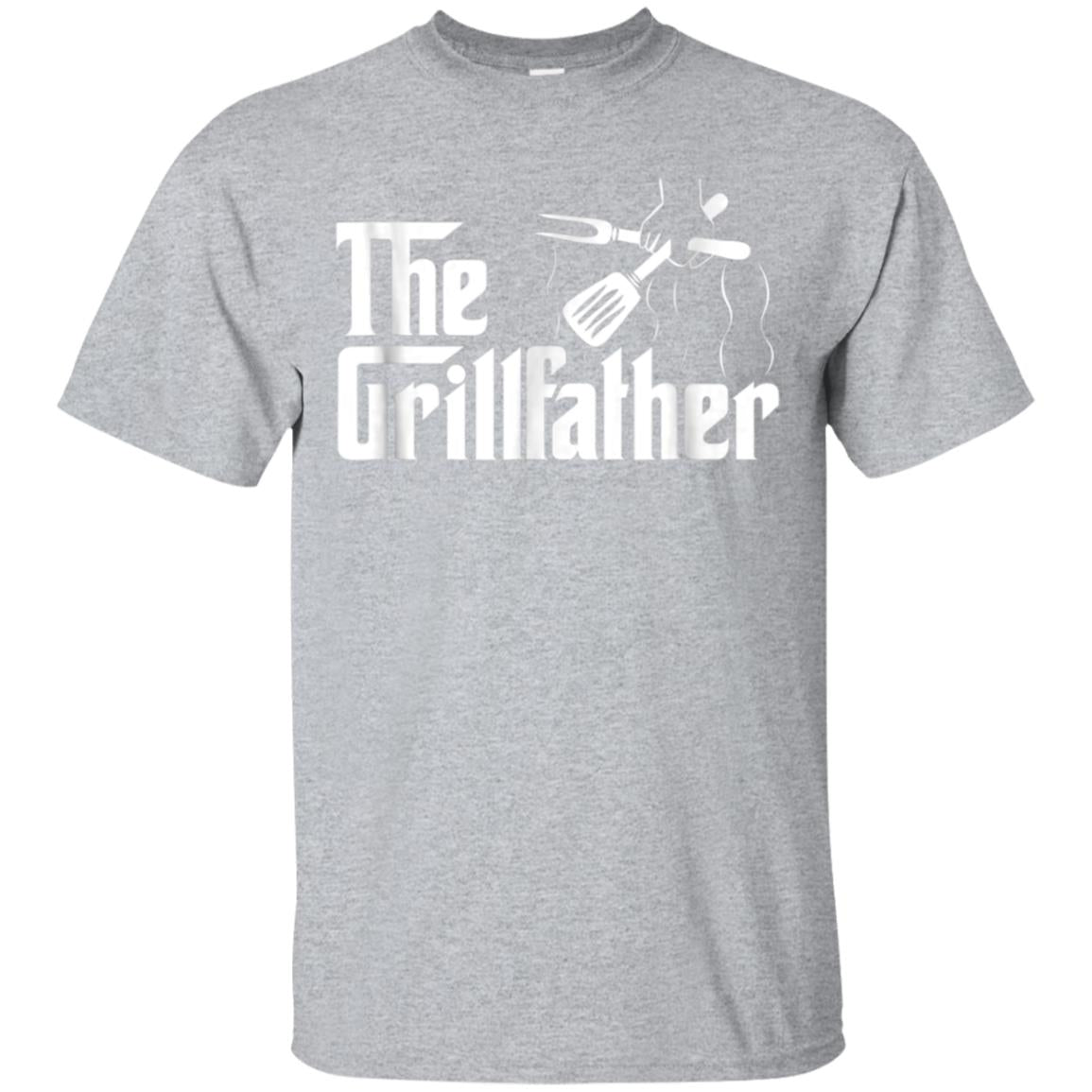 The Grillfather BBQ Grill & Smoker  Barbecue Chef T-Shirt 99promocode