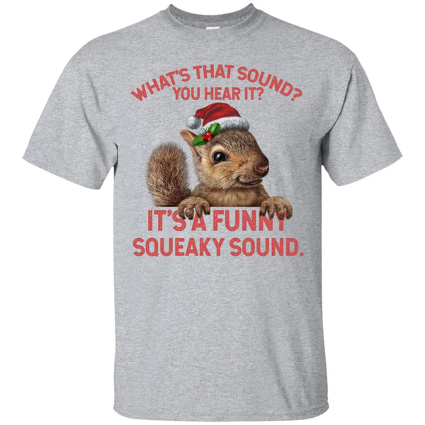dc20661db Awesome funny squeaky sound long shirt christmas squirrel t shirt -  99promocode